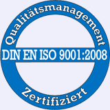 Button DIN EN ISO 9001:2008